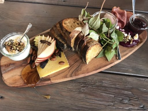 Bread & Cheese Plate